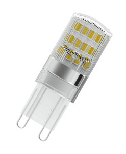 LED lamps with retrofit pin base G9